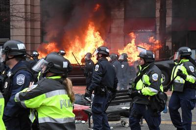 Anti-Trump inauguration protests