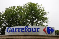 Le fonds Colony Capital est sorti du capital de Carrefour. Le fonds Colony Capital a informé l'Autorité des marchés financiers (AMF) le 20 janvier qu'il avait franchi en baisse le seuil de 5% du capital et ne plus détenir aucune action de la société. /REUTERS/Jacky Naegelen