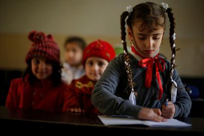 Back to school in Mosul