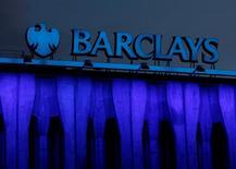 El logo de Barclays es visto en Madrid, España. 22 de marzo 2016. Barclays se está preparando para mudar su sede central europea a Dublín cuando Reino Unido salga de la Unión Europea, dijo el jueves una fuente familiarizada con el tema. REUTERS/Sergio Perez/File Photo