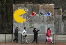 """El fabricante japonés de juguetes y videojuegos Bandai Namco Holdings dijo el lunes que su fundador Masaya Nakamura, conocido como """"Padre de PAC-MAN"""", había fallecido a los 91 años.En la imagen, un Pac-Man en Hong Kong el 7 de marzo de 2014.  REUTERS/Bobby Yip/Files"""