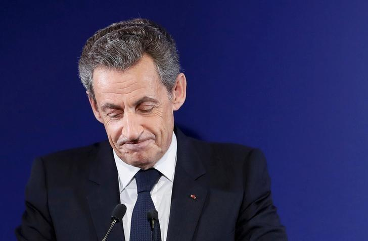 Nicolas Sarkozy, former French president, at his headquarters in Paris , France, November 20, 2016.  REUTERS/Ian Langsdon/File Photo