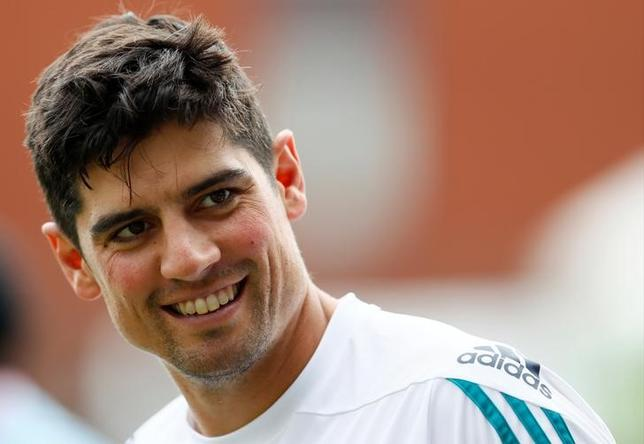 Britain Cricket - England Nets - Emirates Old Trafford - 21/7/16England's Alastair Cook during netsAction Images via Reuters / Jason Cairnduff / Livepic / Files