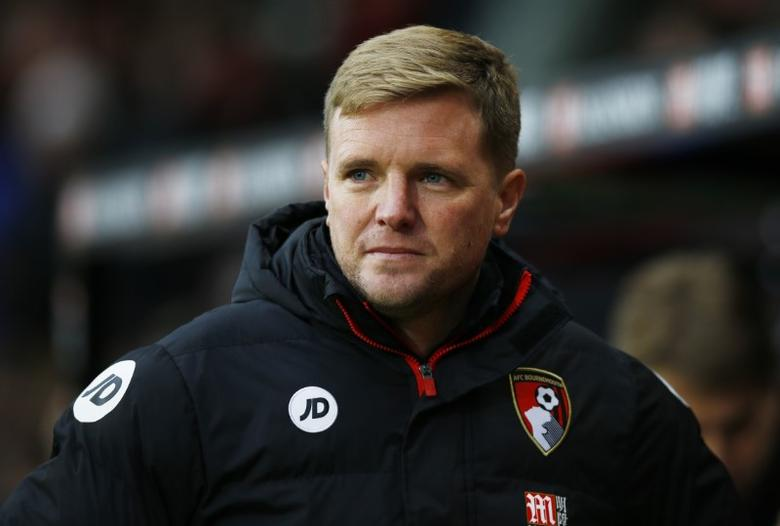 Britain Soccer Football - AFC Bournemouth v Watford - Premier League - Vitality Stadium - 21/1/17 Bournemouth manager Eddie Howe before the match Action Images via Reuters / Peter Cziborra Livepic