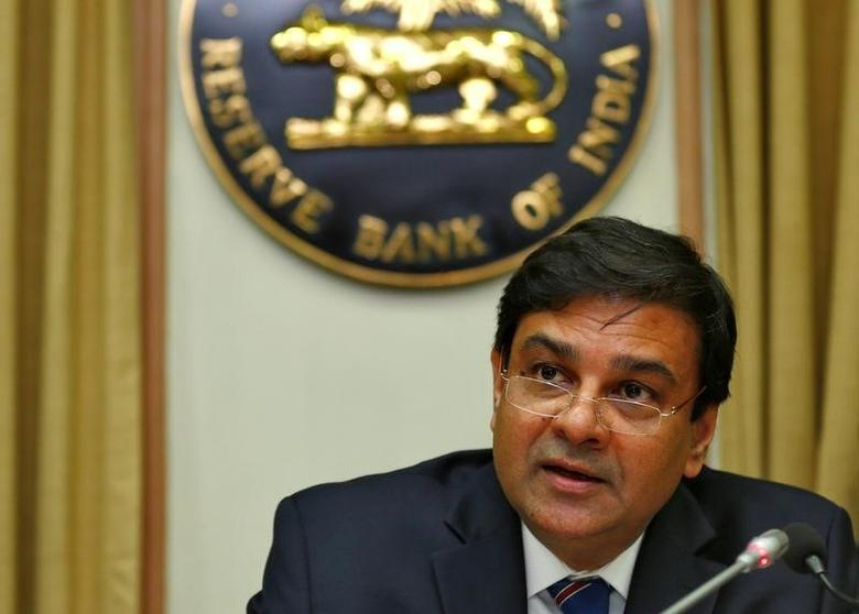 The Reserve Bank of India (RBI) Governor Urjit Patel speaks during a news conference after the bimonthly monetary policy review in Mumbai, India December 7, 2016. REUTERS/Danish Siddiqui