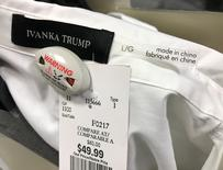 An Ivanka Trump-branded blouse is seen for sale at off-price retailer Winners in Toronto, Ontario, Canada February 3, 2017.  REUTERS/Chris Helgren
