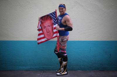 Trump wrestler enters Mexican lucha libre ring