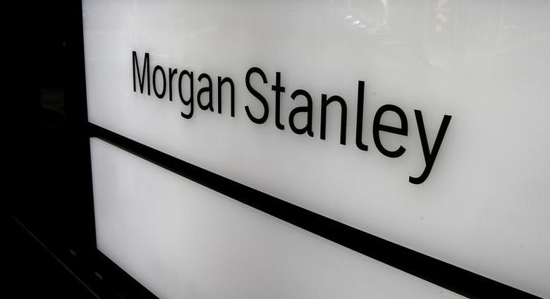 The logo of Morgan Stanley is seen at an office building in Zurich, Switzerland September 22, 2016.  REUTERS/Arnd Wiegmann/File Photo