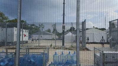 Australia's immigration center on Manus Island