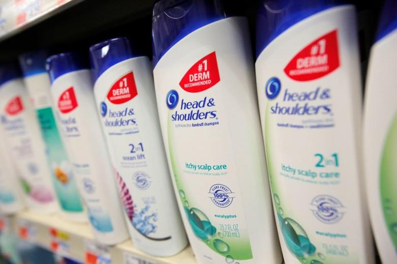 Procter & Gamble's Head & Shoulders is seen in a store in Manhattan, New York, U.S., August 1, 2016.  REUTERS/Andrew Kelly