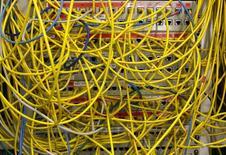 Le gouvernement néerlandais a dévoilé jeudi un projet de loi qui l'autoriserait à empêcher ou à annuler des opérations de fusion et des OPA dans le secteur des télécommunications. /Photo d'archives/REUTERS/Fabrizio Bensch