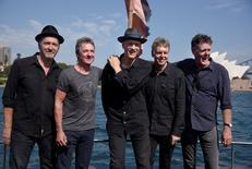 Banda de rock australiana Midnight Oil durante anúncio em Sydney de turnê mundial.     17/02/2017   REUTERS/Aaron Bunch