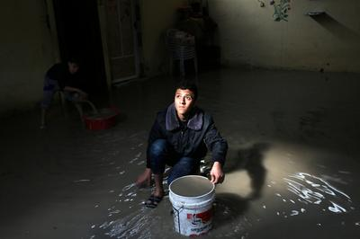 Flooding in Gaza