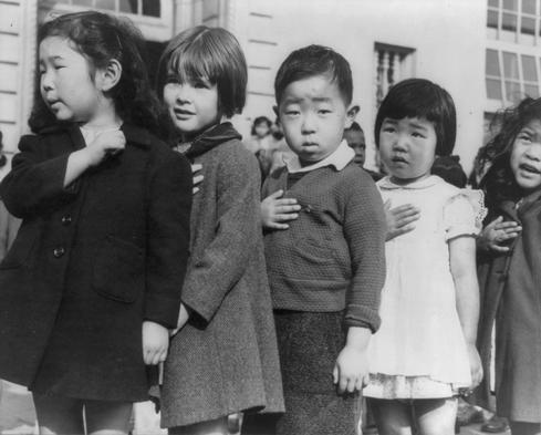 The internment of Japanese-Americans