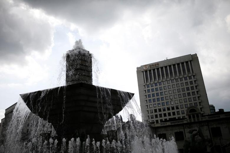 The buliding of Bank of Korea is seen in Seoul, South Korea, July 14, 2016.  REUTERS/Kim Hong-Ji/Files