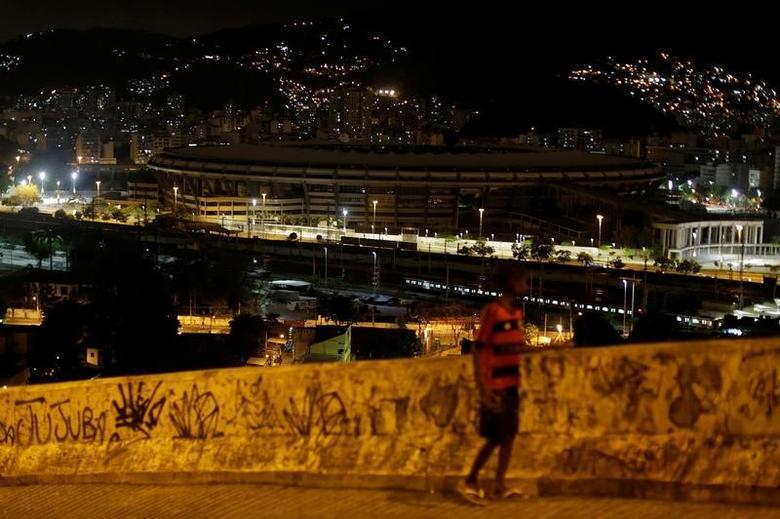 General view of Maracana Stadium in Rio de Janeiro, Brazil, January 26, 2017. REUTERS/Ueslei Marcelino