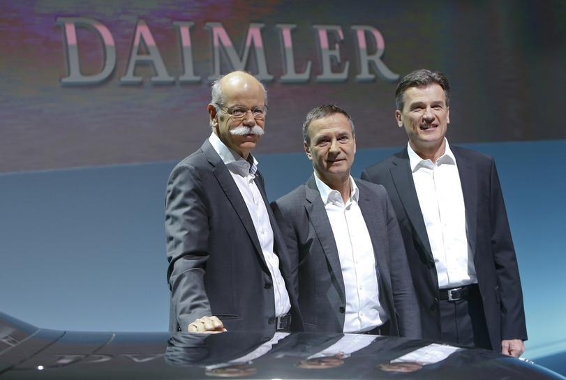 Daimler picks U.S. trucks chief to replace Bernhard