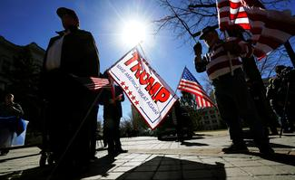 Pro-Trump rallies