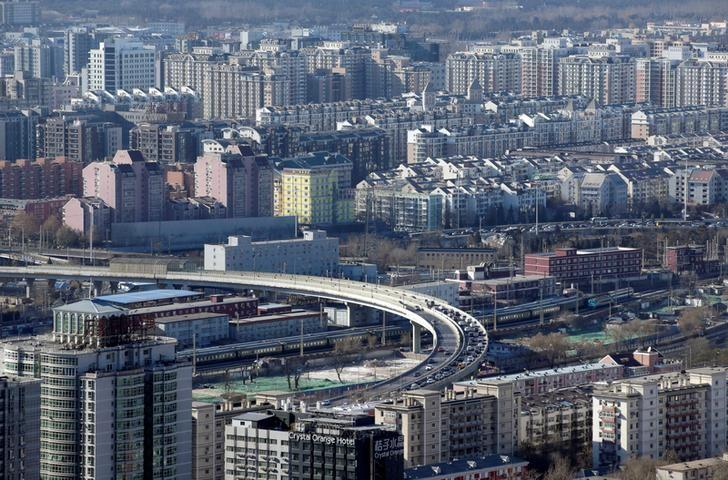 FILE PHOTO: Residential buildings are seen in Beijing, China, January 10, 2017. Picture taken on January 10, 2017. REUTERS/Jason Lee/File Photo