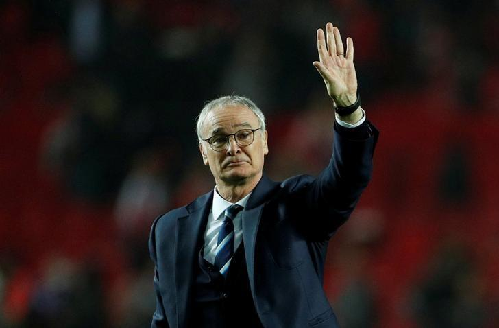 FILE PHOTO: Soccer Football - Sevilla v Leicester City - UEFA Champions League Round of 16 First Leg - Ramon Sanchez Pizjuan Stadium, Seville, Spain - 22/2/17 Leicester City manager Claudio Ranieri after the match Action Images via Reuters/John Sibley Livepic/File Photo