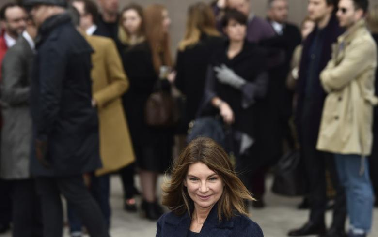Net-a-Porter founder Natalie Massenet arrives for the Burberry Prorsum Autumn/Winter 2015 show during ''London Collections: Men'' in London January 12, 2015. REUTERS/Toby Melville