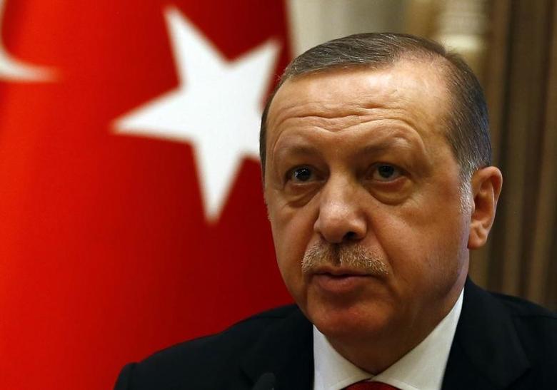 Turkish President Tayyip Erdogan   in Ankara, Turkey, January 28, 2017. REUTERS/Umit Bektas