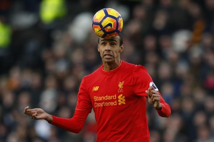 Britain Football Soccer - Hull City v Liverpool - Premier League - The Kingston Communications Stadium - 4/2/17 Liverpool's Joel Matip in action Reuters / Phil Noble