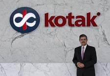Uday Kotak, Managing Director of Kotak Mahindra Bank poses for a picture at the company's corporate office in Mumbai January 15, 2015. REUTERS/Danish Siddiqui