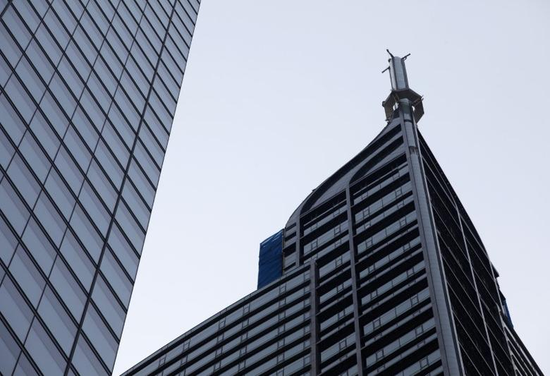 The top of the 65-storey Trump International Hotel & Tower is seen in Toronto August 31, 2015. REUTERS/Chris Helgren
