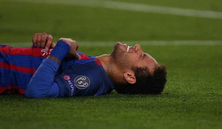 Barcelona v Paris St Germain - UEFA Champions League Round of 16 Second Leg - The Nou Camp, Barcelona, Spain - 8/3/17 Barcelona's Neymar Reuters / Sergio Perez Livepic