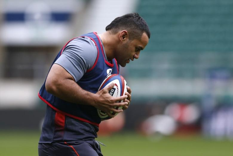 Britain Rugby Union - England Training - Twickenham Stadium - 10/3/17 England's Billy Vunipola during training Action Images via Reuters / Matthew Childs Livepic