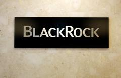 Logo da BlackRock em escritório da empresa em Tóquio. 20/10/2016 REUTERS/Toru Hanai
