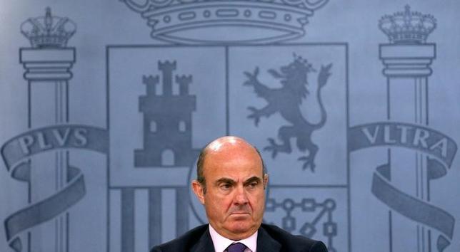 3月13日、スペインのデギンドス経済相は、スペインは来年、欧州中央銀行(ECB)の役員会に役員を送り込むことになると確信していると述べた。写真はマドリードで昨年7月撮影(2017年 ロイター/Juan Medina)