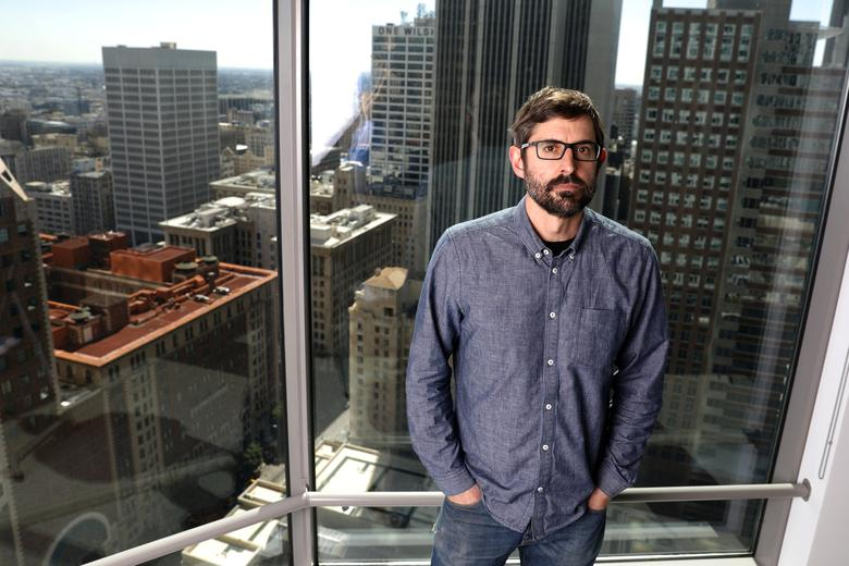 Louis Theroux, writer and star of documentary ''My Scientology Movie,'' poses for a portrait in Los Angeles, California, U.S., March 7, 2017. Picture taken March 7, 2017.  REUTERS/Lucy Nicholson