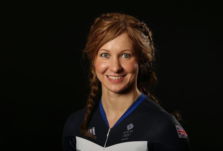 Britain Cycling - Team GB - Rio 2016 Cycling Team Media Session - Celtic Manor, Wales - 25/7/16. Joanna Rowsell Shand of Team GB poses for a photo.  Action Images via Reuters / Matthew Childs