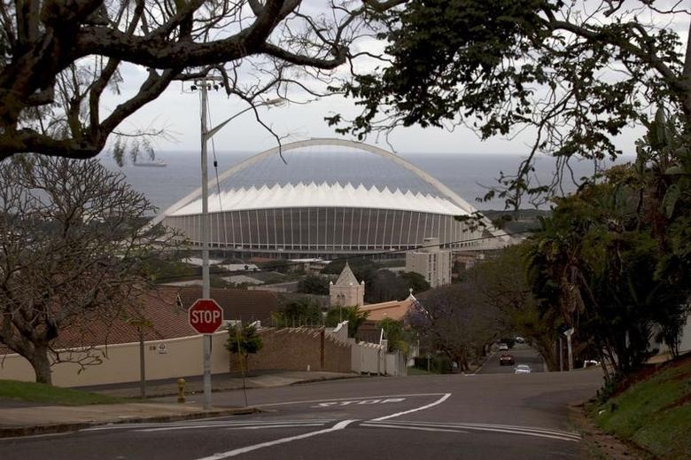 A general view of Moses Mabhida Stadium in Durban, September 2, 2015.  REUTERS/Rogan Ward/Files