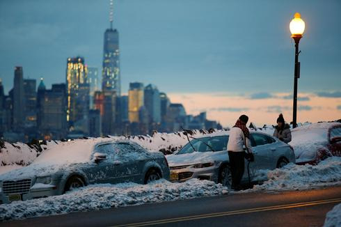 Blizzard blankets the Northeast