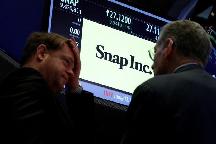 Snap Shares Hit New Low in Choppy Trading as Valuation Concerns Mount
