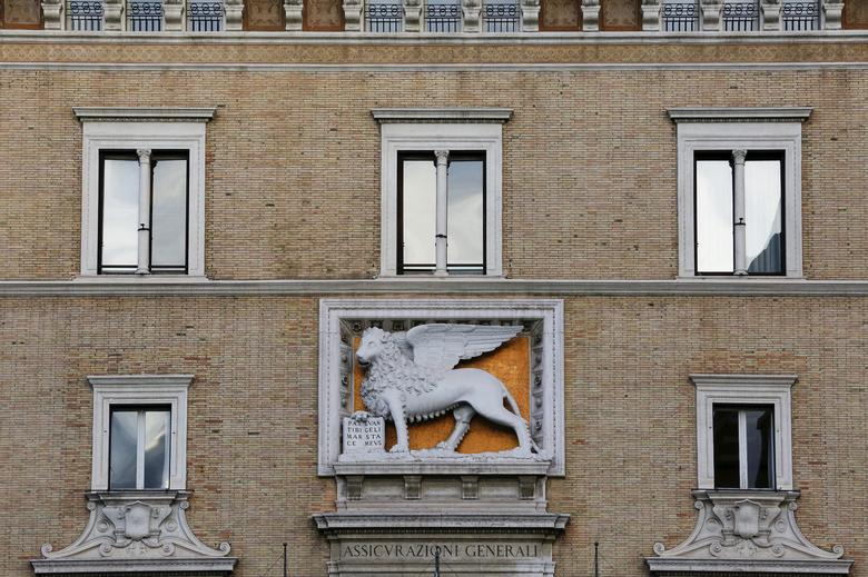 FILE PHOTO: The headquarters of Italy's insurer Assicurazioni Generali in Rome, Italy, February 8, 2016.    REUTERS/Alessandro Bianchi/File Photo