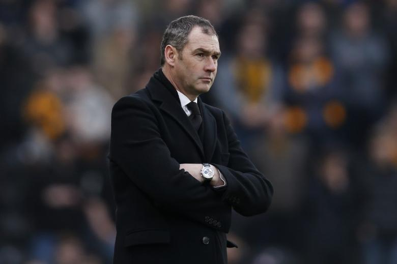 Britain Football Soccer - Hull City v Swansea City - Premier League - The Kingston Communications Stadium - 11/3/17 Swansea City manager Paul Clement Action Images via Reuters / Ed Sykes/ Livepic/ Files