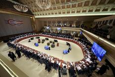 A general view shows the G20 Finance Ministers and Central Bank Governors Meeting in Baden-Baden, Germany, March 17, 2017.   REUTERS/Kai Pfaffenbach