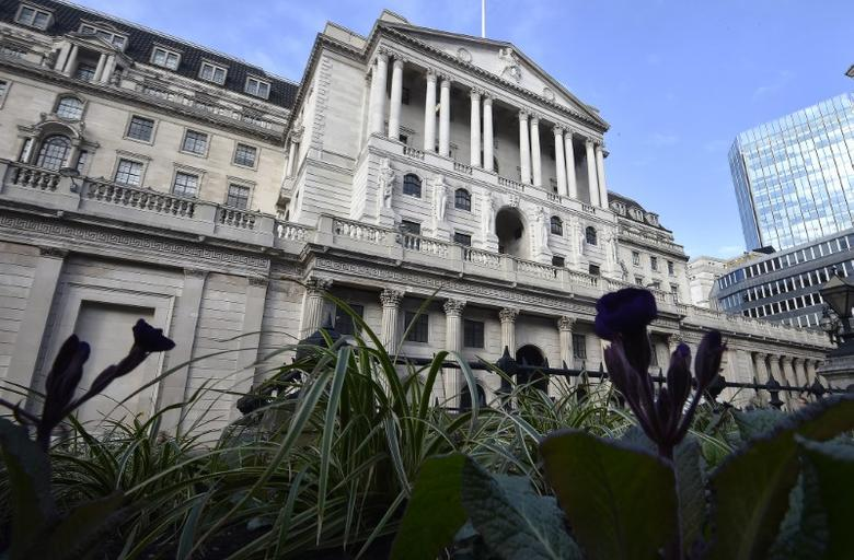 The Bank of England is seen in the City of London, Britain, February 14, 2017. REUTERS/Hannah McKay