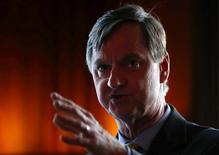 Il presidente della Fed di Chicago, Charles Evans.    REUTERS/Jim Young