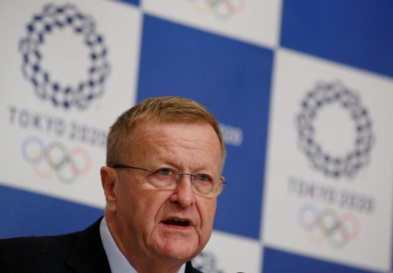 International Olympic Committee (IOC) Vice President and Chairman of the Coordination Commission for the Tokyo 2020 Games John Coates attends a news conference in Tokyo, Japan, December 2, 2016. REUTERS/Kim Kyung-Hoon/Files