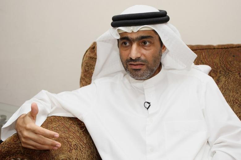FILE PHOTO: Ahmed Mansoor, one of the five political activists pardoned by the United Arab Emirates, speaks to Reuters in Dubai November 30, 2011. REUTERS/Nikhil Monteiro