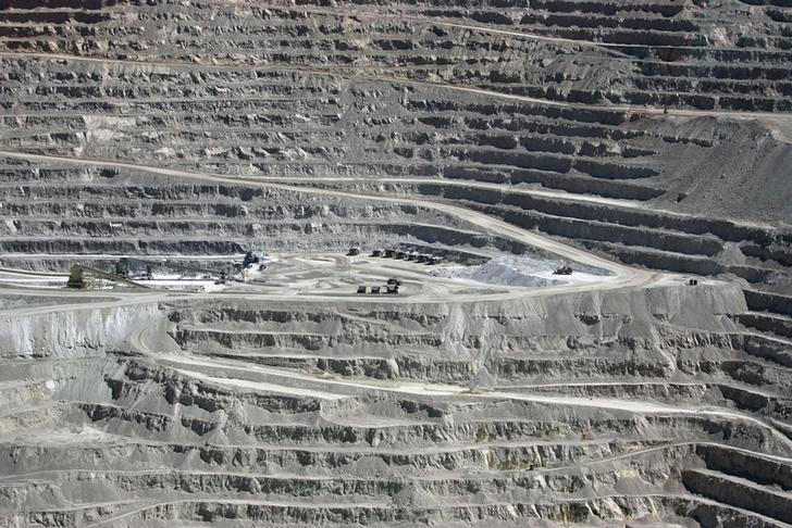 File Photo: A view of the BHP Billiton's Escondida, the world's biggest copper mine, in northern Chile, in Antofagasta, Chile March 31, 2008. Picture taken March 31, 2008. REUTERS/Ivan Alvarado/File Photo