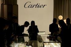 Kering a annoncé mardi un accord stratégique entre sa filiale Kering Eyewear et Cartier, propriété de Richemont, pour le développement, la fabrication et la commercialisation des lunettes de la marque joaillière. /Photo prise le 17 janvier 2017/REUTERS/Pierre Albouy