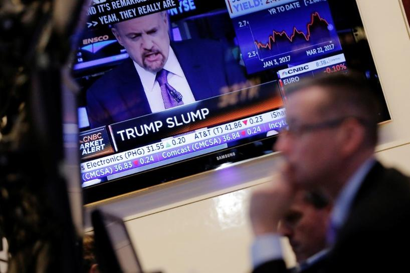 Trump Tantrum looms on Wall Street if healthcare effort stalls