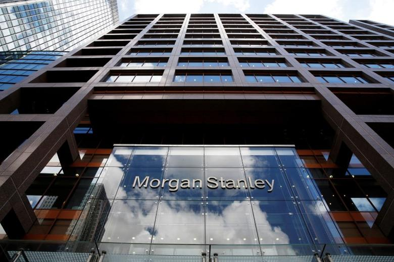 FILE PHOTO --  A view of the Morgan Stanley London headquarters at Canary Wharf financial centre in London, Britain June 24, 2016.       REUTERS/Russell Boyce/File Photo