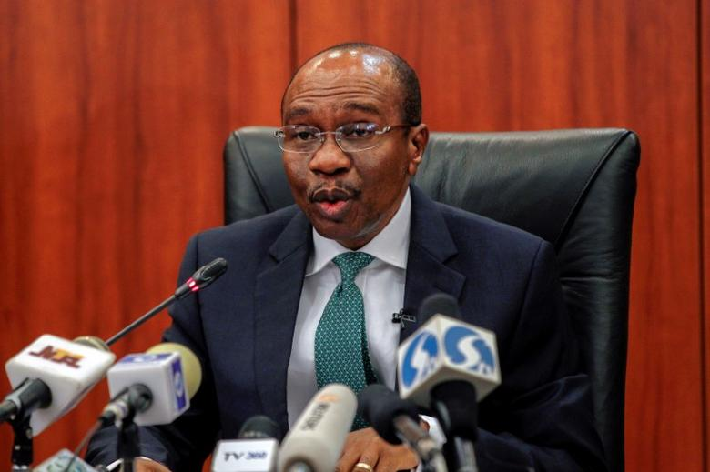 Nigeria's central bank governor Godwin Emefiele speaks during the monthly Monetary Policy Committee meeting in Abuja, Nigeria  January 26, 2016.  REUTERS/Afolabi Sotunde/File Photo